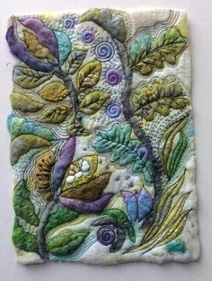 Jackie Cardy textiles - detail