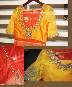 8 Best 2018 Latest Maggam Work Blouse Images Aari Work Blouse