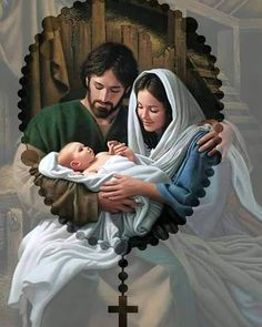 7 Day Prayer Miracle believes better control your life. It has already helped about 100 000 women and men to fulfill the purpose of their… Pictures Of Jesus Christ, Religious Pictures, Catholic Art, Religious Art, Image Jesus, Prayer For Family, Christian Images, Mama Mary, Christmas Nativity Scene