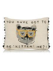 George Home Kitten Me Cushion 30x40cm