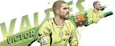 Victor Valdes 1 FC Barcelona by akyanyme on DeviantArt Fc Barcelona, Goalkeeper, Soccer, Baseball Cards, Vectors, Deviantart, Hs Sports, Football Drawings, Fo Porter