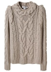 i love cable sweaters.