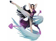 Συλλεκτική φιγούρα της Boa Hancock (Love Hurricane -Extra Battle- Figuarts ZERO) από την anime σειρά One Piece. Υψηλής ποιότητας φιγούρα από υλικό PVC, ύψους 16 εκ., από την Bandai.