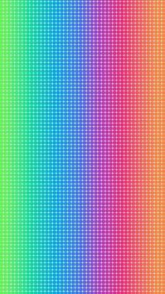 スーパーレインボーiPhone壁紙 iPhone 5/5S 6/6S PLUS SE Wallpaper Background