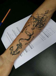 #tattoo #windrose #compass #jahlovetattoo