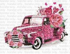 Vintage Clipart, Camper, Red Leopard, Leopard Shirt, Love Valentines, Valentine Crafts, Valentine Decorations, Holiday Crafts, A Boutique