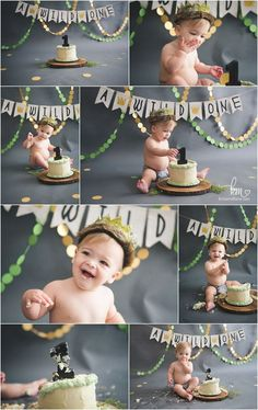 a wild one themed cake smash session - where the wild things are 1st birthday party idea