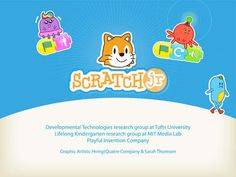 Scratch Jr iPad app for learning to code. Massachusetts Institute Of Technology, Scratch Programming Language, Cyber Safety, Coding For Kids, Interactive Stories, Emotional Development, Learn To Code, Computer Programming, Best Apps