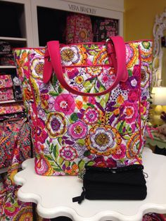 New Vera Bradley Pattern Clementine!! Limited Spring 2014 preview in store now