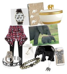 """""""elephant's"""" by ewheelwright ❤ liked on Polyvore featuring art"""