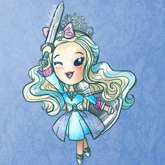 Ever After High Chibi Darling Charming Ever After High, Darling Charming, Chibi, Lizzie Hearts, Monster High Art, Marvel, Por Tv, Cute Anime Character, Disney Art