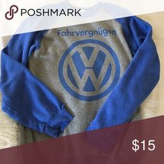 Volkswagen sweatshirt Fahrvergnügen slogan VW sweatshirt JEM Sportswear  Sweaters Crew & Scoop Necks