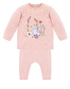 Newborn Bunny 2 Piece Knitted Set