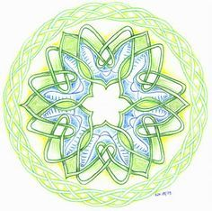 Afbeeldingsresultaat voor keltisch vlechtwerk tekenen