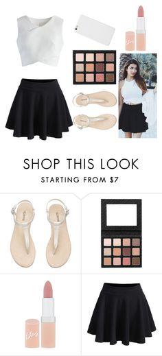 """""""Rclbeauty101 inspired outfit!"""" by randagirl-1 ❤ liked on Polyvore featuring H&M, Sigma, Rimmel and Chicwish"""