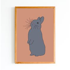 This adorable and alert bunny will look perfect in a frame hanging on a bedroom or playroom wall or even printed out on a gorgeous gift card. When purchased you will receive a square and an sized jpeg file. My Goals, Winnie The Pooh, Playroom, A4, Cute Animals, Bunny, Bullet Journal, Printables, Colour