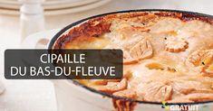 Ce plat qui nous vient des marins anglais (sea pie) est maintenant considéré comme un plat franco-canadien - appropriation culturelle :) Appropriation Culturelle, Apple Pie, Cornbread, Casseroles, Turkey, Potatoes, Chicken, Baking, Ethnic Recipes