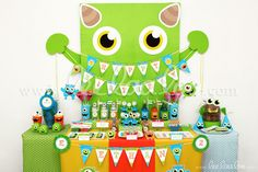 Little Monster Birthday Party - Mega Set Personalized Printable // Little Monster - Little Monster Birthday, Monster 1st Birthdays, Monster Birthday Parties, First Birthday Parties, First Birthdays, Boys 1st Birthday Party Ideas, Happy Birthday Name, Baby Boy 1st Birthday, Little Monster Party