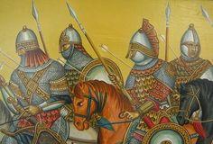 Τα ακριτικά έπη- διάφορα: Η εκγύμναση των Ιππέων στον Βυζαντινό στρατό.