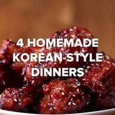 In Tonight And Make One Of These 4 Homemade Korean-Style Dinners 4 Homemade Korean Style Dinners Gilbert Realtor Bill Salvatore w/ Arizona Elite Properties 4 Homemade Korean Style Dinners Gilbert Realtor Bill Salvatore w/ Arizona Elite Properties Meat Recipes, Asian Recipes, Chicken Recipes, Cooking Recipes, Cooking Food, Recipies, Korean Dishes, Korean Food, Tasty Videos