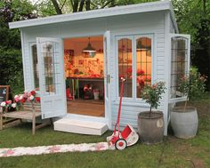 Cath Kidston's 'Coming Up Roses' retreat at Chelsea Flower show 2013