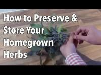 Embedded thumbnail for How to Preserve Herbs