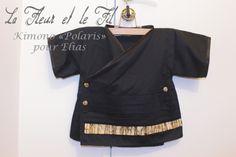 """Kimono """"Polaris"""", Grains de couture pour enfants, Ivanne Soufflet"""