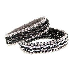 chain bracelets by HERSTORY Design
