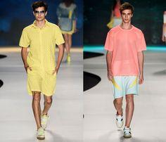 Coca-Cola Clothing 2014 Summer Mens Runway Collection - Fashion Rio - Rio de Janeiro Brazil Southern Hermisphere 2014 Verao Homens Desfile