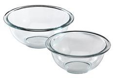 Pyrex Prepware 2Piece Glass Mixing Bowl Set ** Click on the affiliate link Amazon.com on image for additional details.