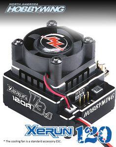 HOBBYWING North America — XERUN 120A V3.1 ESC Black Edition - In Stock Now