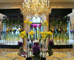 Paris - Four Seasons - George V - Jeff Leatham- A Cut Above the Rest