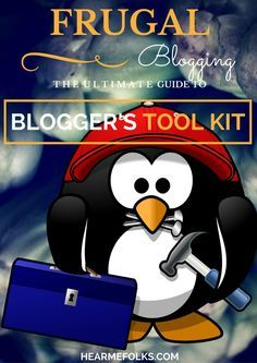 The ultimate guide to a blogger's tool kit. A great way to launch & run a blog frugally (includes webhosting, designing, writing, seo, social media and email marketing). (scheduled via http://www.tailwindapp.com?utm_source=pinterest&utm_medium=twpin&utm_content=post113477991&utm_campaign=scheduler_attribution)