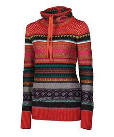 Another great find on #zulily! Papaya Mariel Merino Mock Neck Pullover by Neve #zulilyfinds