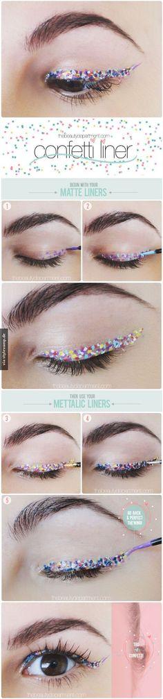 Konfetti Eyeliner