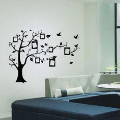 Family Photo Tree Wall Decal. $12.00 at Thevinylseal.storenvy.com with a Free Shipping option!