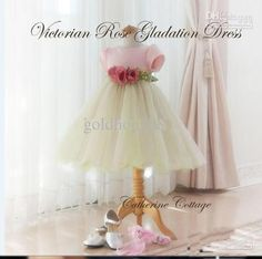 new girls dress rose princess dress yarn lace baby dress 1-3 years | eBay