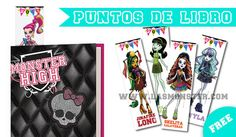 Puntos de libro gratis Monster High