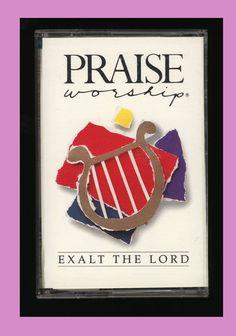 Hosanna Music Praise & Worship - Exalt The Lord (1990 Cassette Tape) OOP CCM #Christian