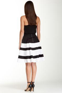 Colorblock Circle Skirt by Amanda & Chelsea on @nordstrom_rack