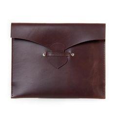 AAMU Brown Clutch & iPad Case | Väska