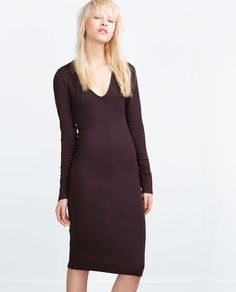 Image 4 of FITTED DRESS from Zara