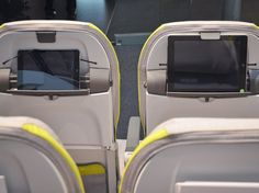 Is there anything more disappointing than boarding a plane to find it doesn't have seatback screens? A place for your own device (such as an iPad or tablet) should soften that blow, and Recaro's BL3530 economy seats, already ordered by airlines for use on Airbus A320s, are all about the BYOD movement.