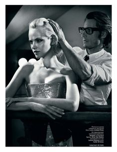 Permalink to Ginta Lapina by Vincent Peters for Vogue Russia November 2011  Ginta Lapina by Vincent Peters for Vogue Russia November 2011