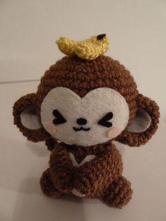 Too Freakin Cute!  Amigurumi Monkeys