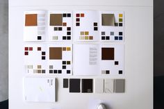 we developed a new collection of #colors, #fabrics, #leather, #ceramics and #laminates