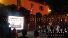 ALMA PROJECT @ Borro - Villa Square - Projector & Screen - 445