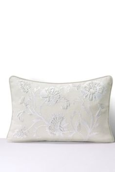 Embroidered Decorative Pillow from Lands' End