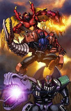[Beast Wars Transformers / Guerra de Bestias]  Predacon / Megatron