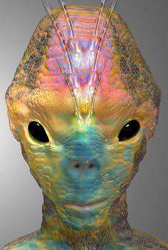 Alien Art by Daniel Ramirez del Toro